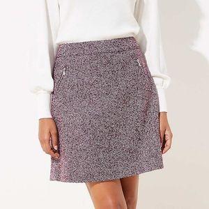 NWTs Tweed Shift Skirt